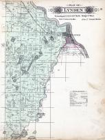 Lynden Township, Clearwater, Mississippi River, Grass Lake, Stearns County 1896 published by C.M. Foote & Co